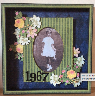 Floral Shoppe Box Frame Graphic 45