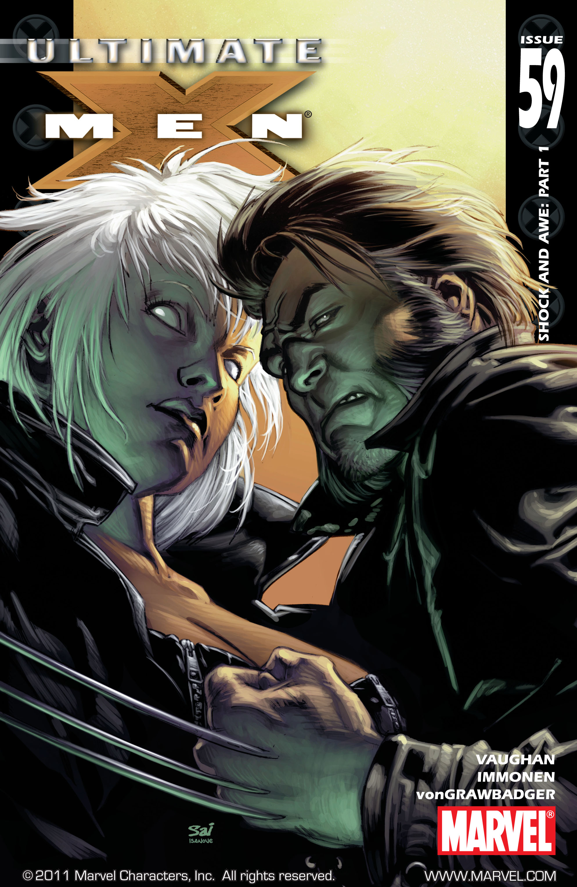 Read online Ultimate X-Men comic -  Issue #59 - 1