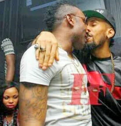 kcee phyno kissing