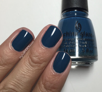 China Glaze; Fall 2016 Rebel Collection - Jagged Little Teal