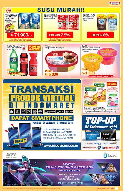 Katalog Harga Promo INDOMARET Super Hemat 21 - 27 Maret 2018