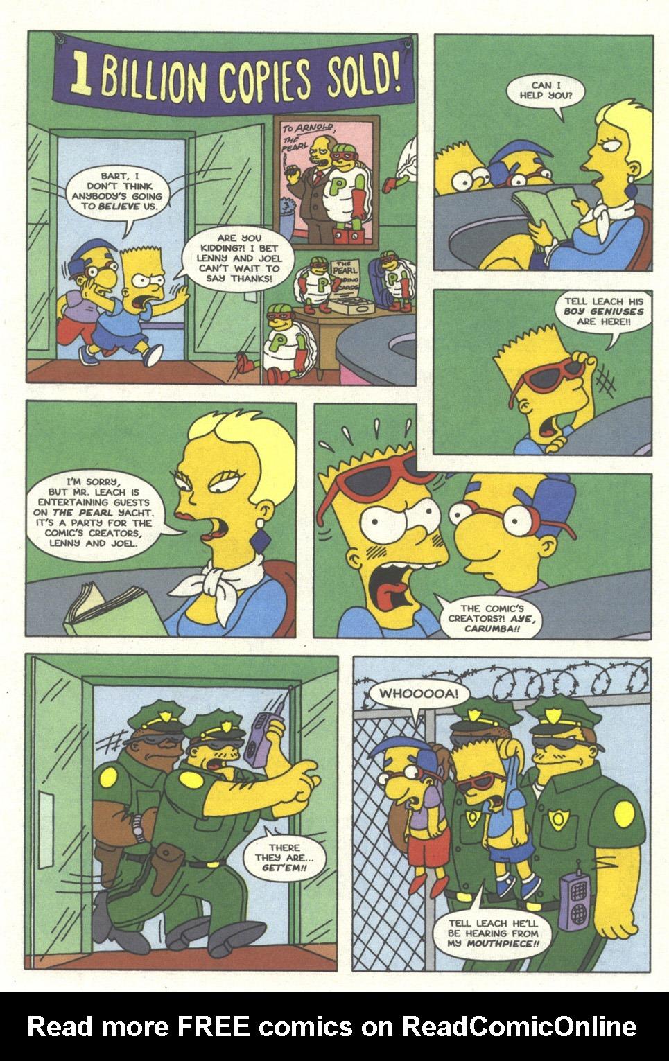 Read online Simpsons Comics comic -  Issue #13 - 14