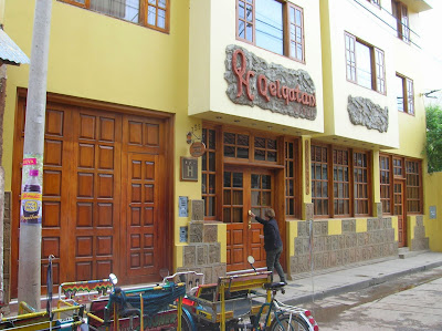 Hotel Qelqatani de Puno, Perú, La vuelta al mundo de Asun y Ricardo, round the world, mundoporlibre.com