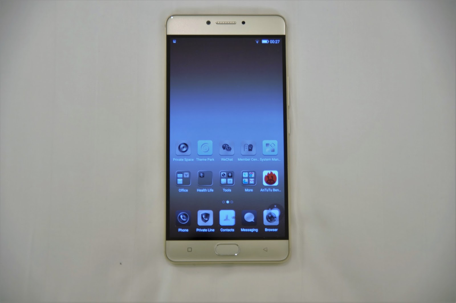 bae1e81e557 Gionee did not scrimp on the design of creating this premium flagship  product for their M series. The M6 is made mainly from metal
