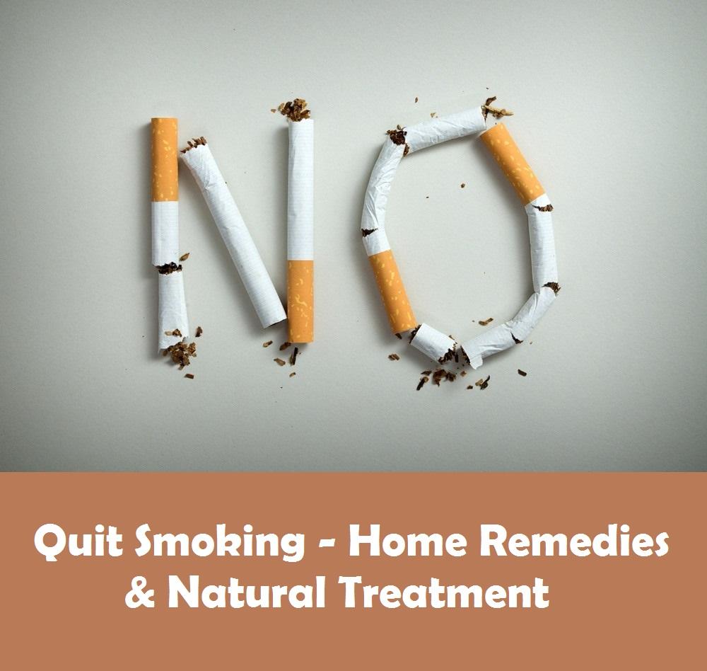 How To Stop Smoking Habit Natural Remedies