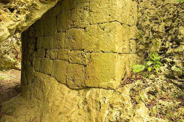 stone entranceway to castle