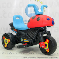 Tajimaku S910 Beetle Rechargeable-battery Operated Toy Motorcycle