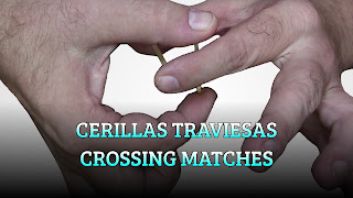 Cerillas traviesas, MAGIC TRICK, Crossing matches cerillas traspasadoras