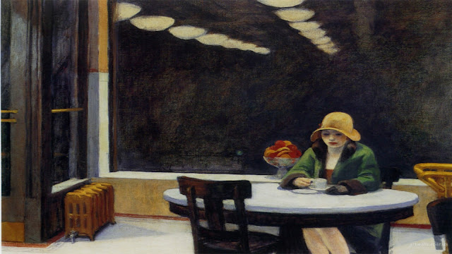 automat edward hopper essay In my last post, on robert cottingham, i showed a detail from one of edward hopper's paintings, and think that it would be appropriate to end the year taking a look at some more of his work.