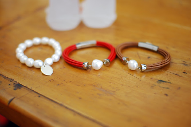 StyleRocks Leather Pearl Freshwater Bracelet DIY