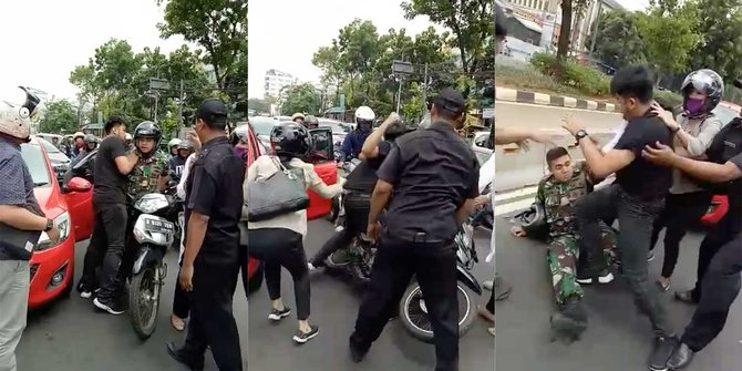 Ini Kata TNI AL soal Perkelahian Anggota dengan pengemudi Mazda