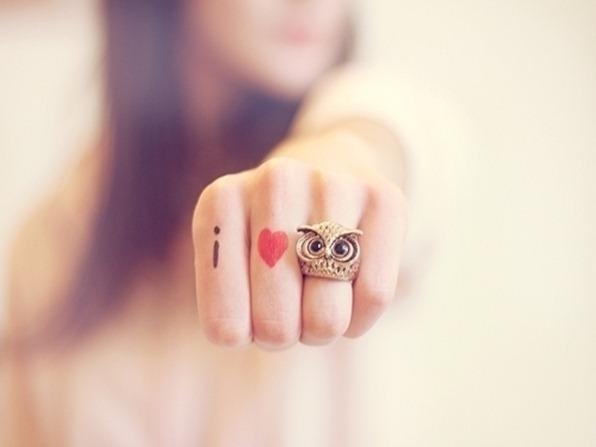 anel de coruja; amor por corujas