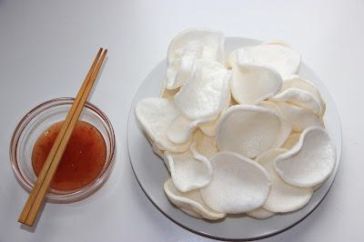 Chinese food - Fried shrimp cracker