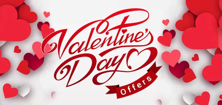 Offer on Valentine's Day