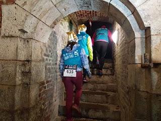 Urban Trail de St Omer souterrain