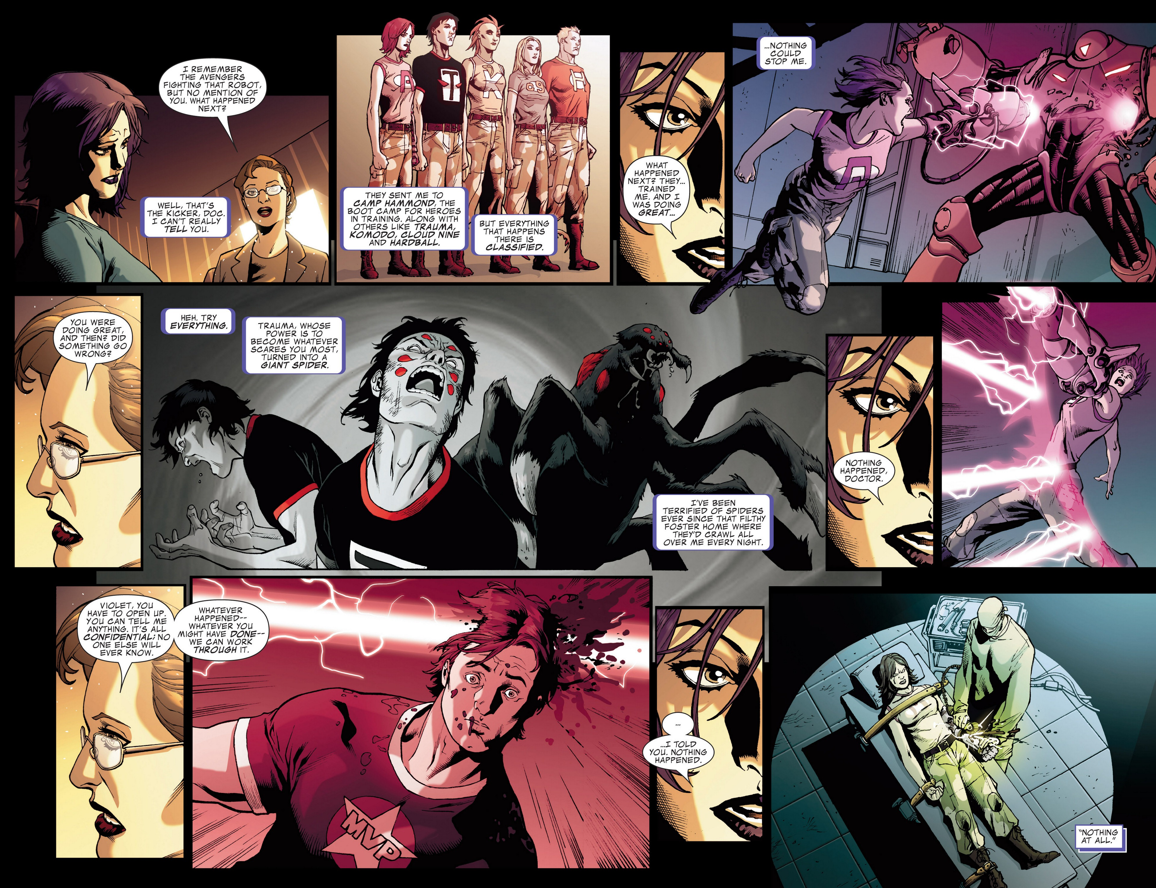 Read online Secret Invasion: The Infiltration comic -  Issue #4 - 15
