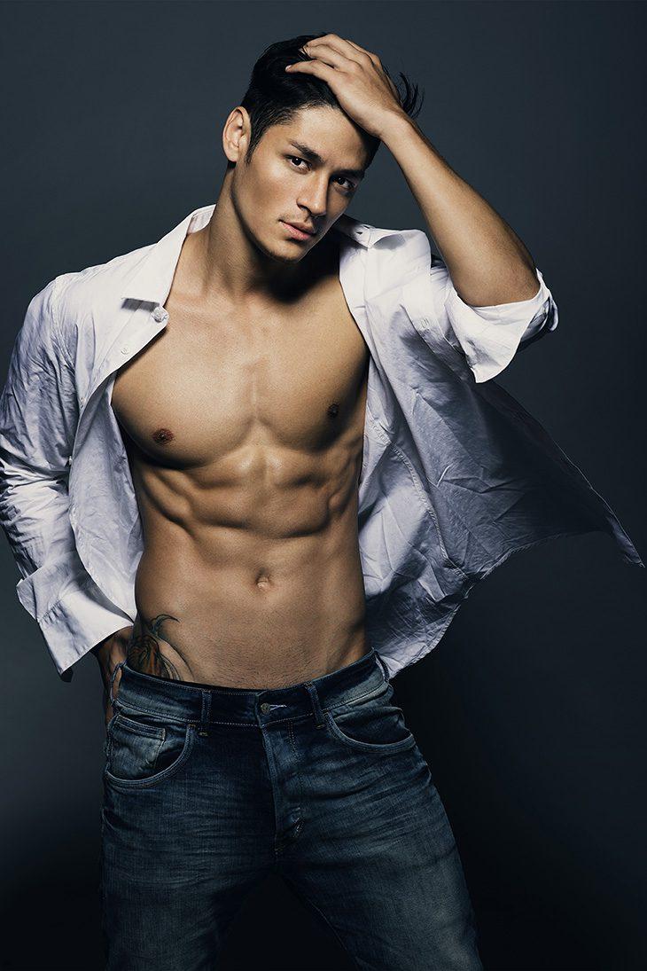 фото моделей мужчин азиатов