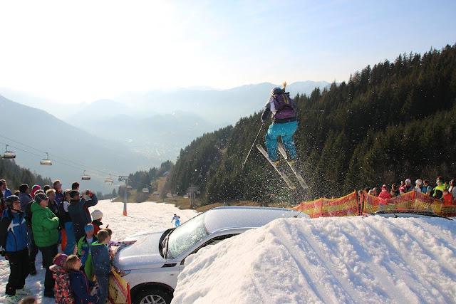 Freeride Skicross Rennen