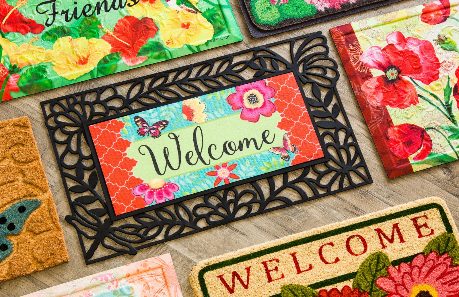 A Welcome Mat Outside The Front Door Is Still The Most Popular Way To Greet  Guests, And There Are Also Countless Opportunities For Floor Mats To Help  Make ...
