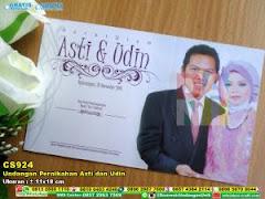 Undangan Pernikahan Asti Dan Udin