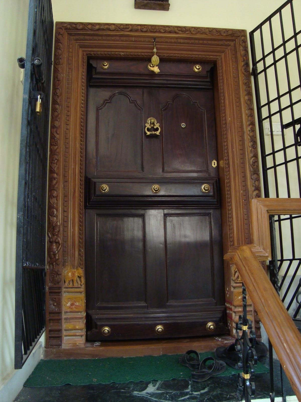indian house door designs simple teak wood single main door designs