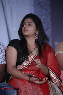 Actress Sasi Pictures in Red Saree at Manjal Movie Audio Launch 0007