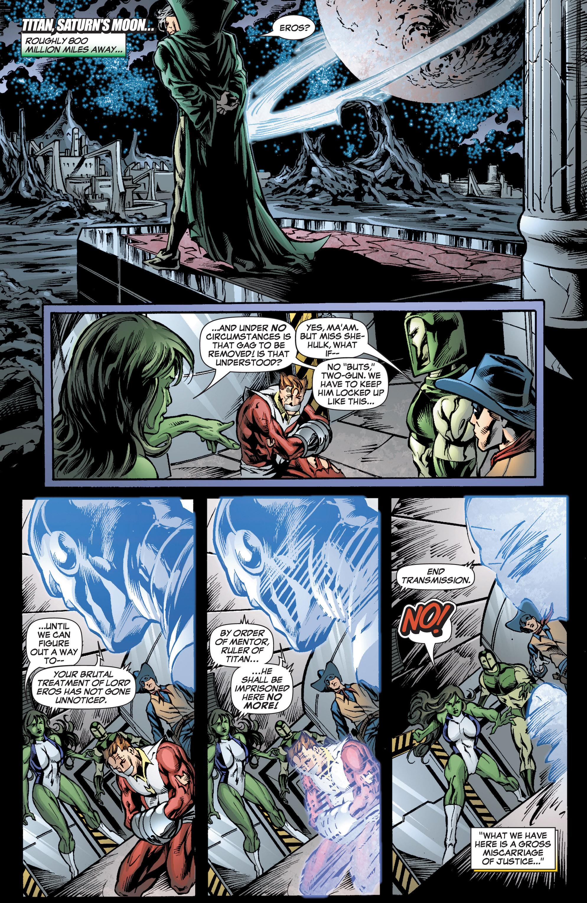 Read online She-Hulk (2005) comic -  Issue #7 - 23
