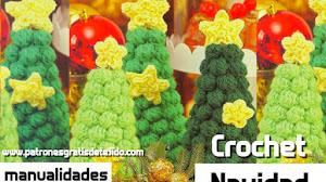 Patrón de Arbol de Navidad a Crochet * Paso a paso