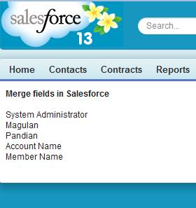 Infallible Techie Merge Fields In Salesforce
