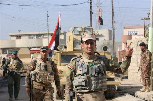 Οι Ιρακινοί τα βρίσκουν σκούρα στη Μοσούλη
