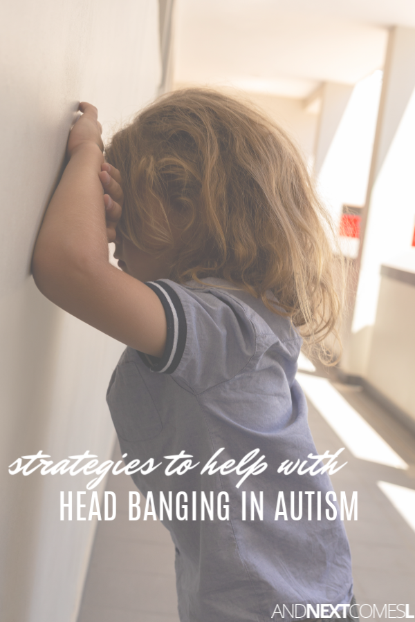 Strategies and tips to help with head banging in autism