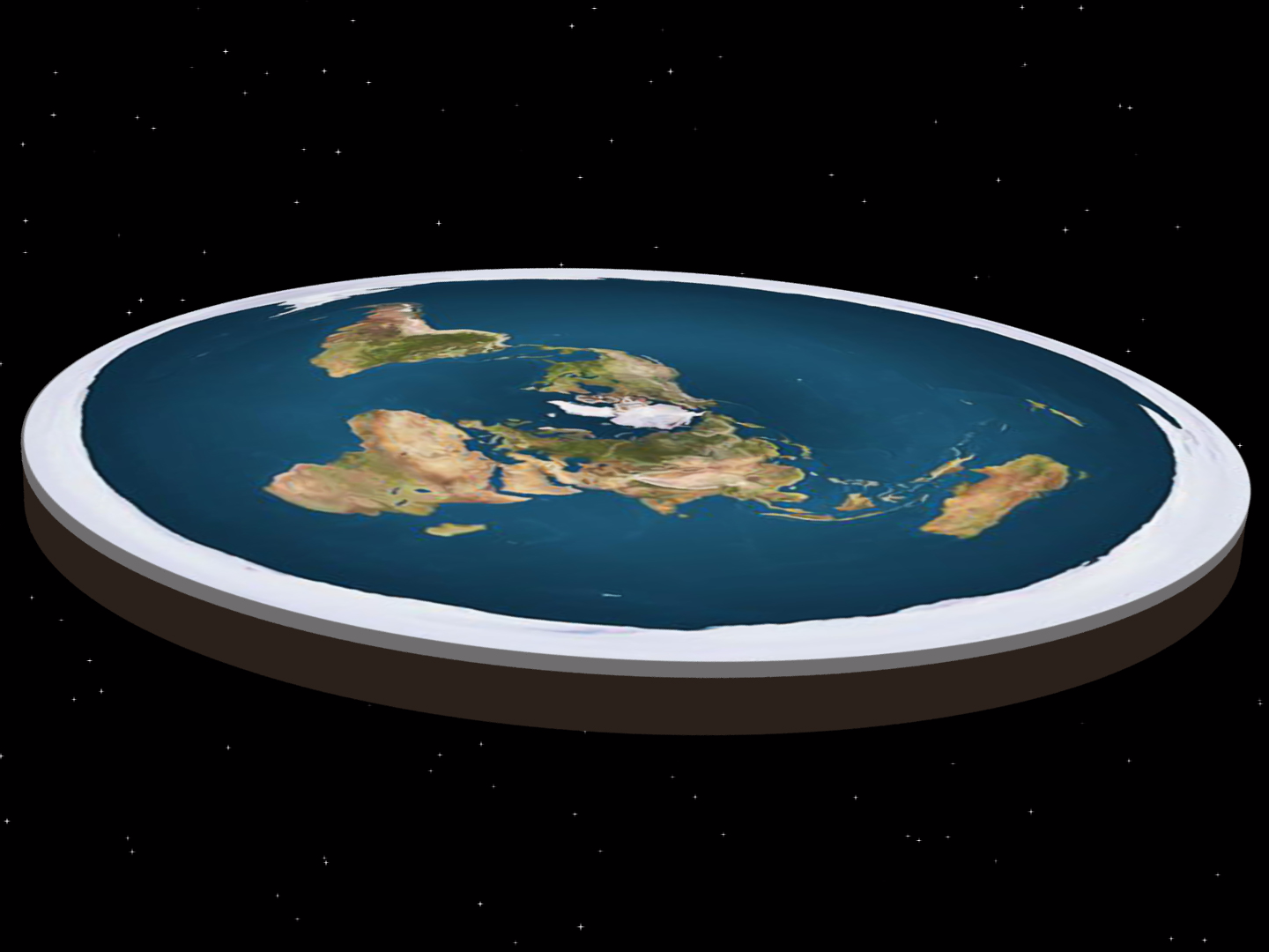 The Earth is Flat: Conclusive Evidence