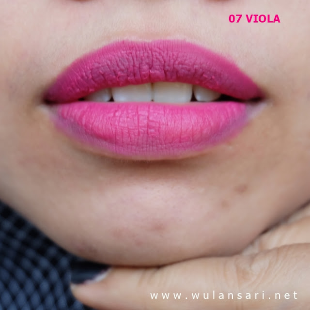 review purbasari hi-matte lip cream 07 viola