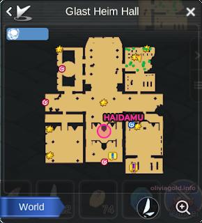 Ragnarok Mobile Glast Heim Haidamu Location
