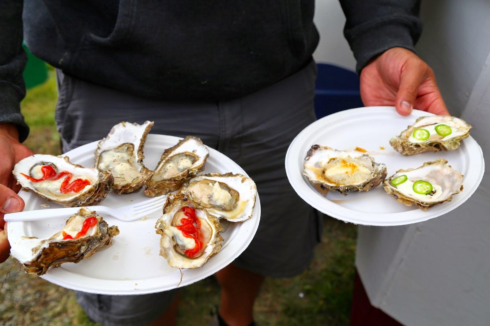 Oysters, Alaska State Fair