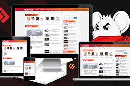 Template Blogger Mirip web Jalan Tikus Download Free