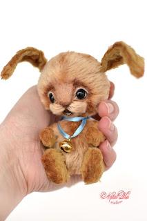 Авторский зайчонок тедди, тедди заяц, авторская игрушка, тедди, тедди с шармом, зайчик тедди, NatalKa Creations, teddies with charm, artist teddy bunny, teddies, teddy rabbit ooak, bunny handmade, stuffed toy, Künstlerteddy, Künstler Hase, Teddy Kaninchen, Teddys, Unikat