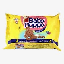 Lencinhos  Umedecidos Baby Poppy