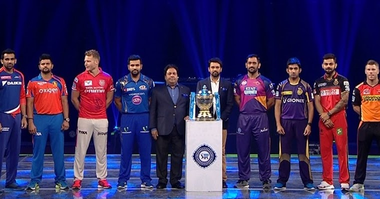 IPL 2017 10th Edition to Start on April 5 and Ends on 21 May | Vivo ...