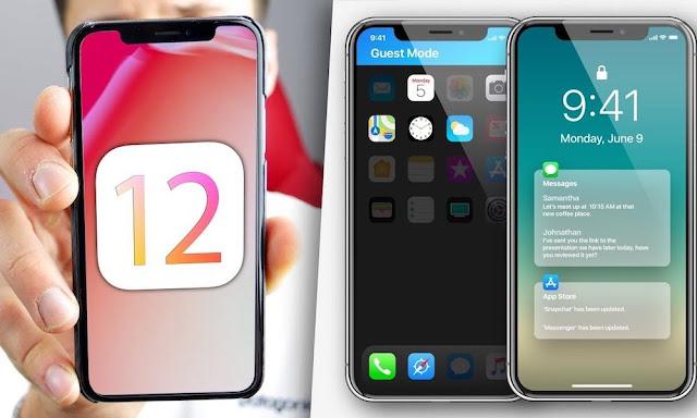 iOS-12-concept