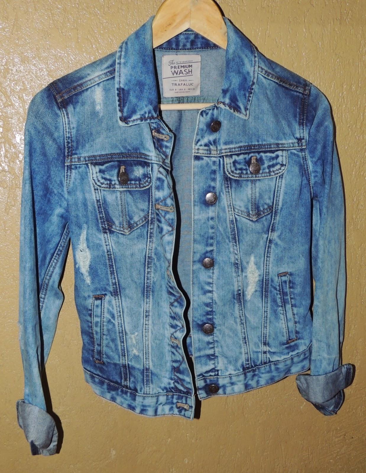 447b251c42 Bazzar Hope Bhz  Jaqueta Jeans Zara (VENDIDA)