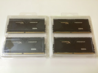 Kingston HyperX Predator 16GB 3000Mhz (4x4) DDR4 Memory Kit