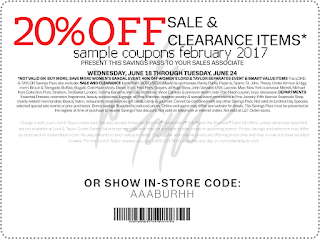 Lord & Taylor coupons february