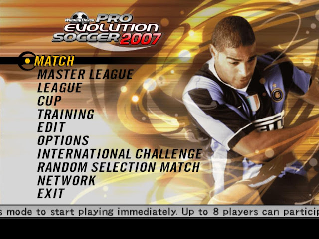 Pro Evolution Soccer 2007 (PES 07) PC Download Full Version