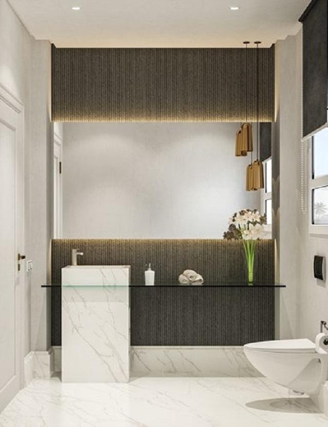 Phòng tắm đẹp cho không gian nhỏ hẹp