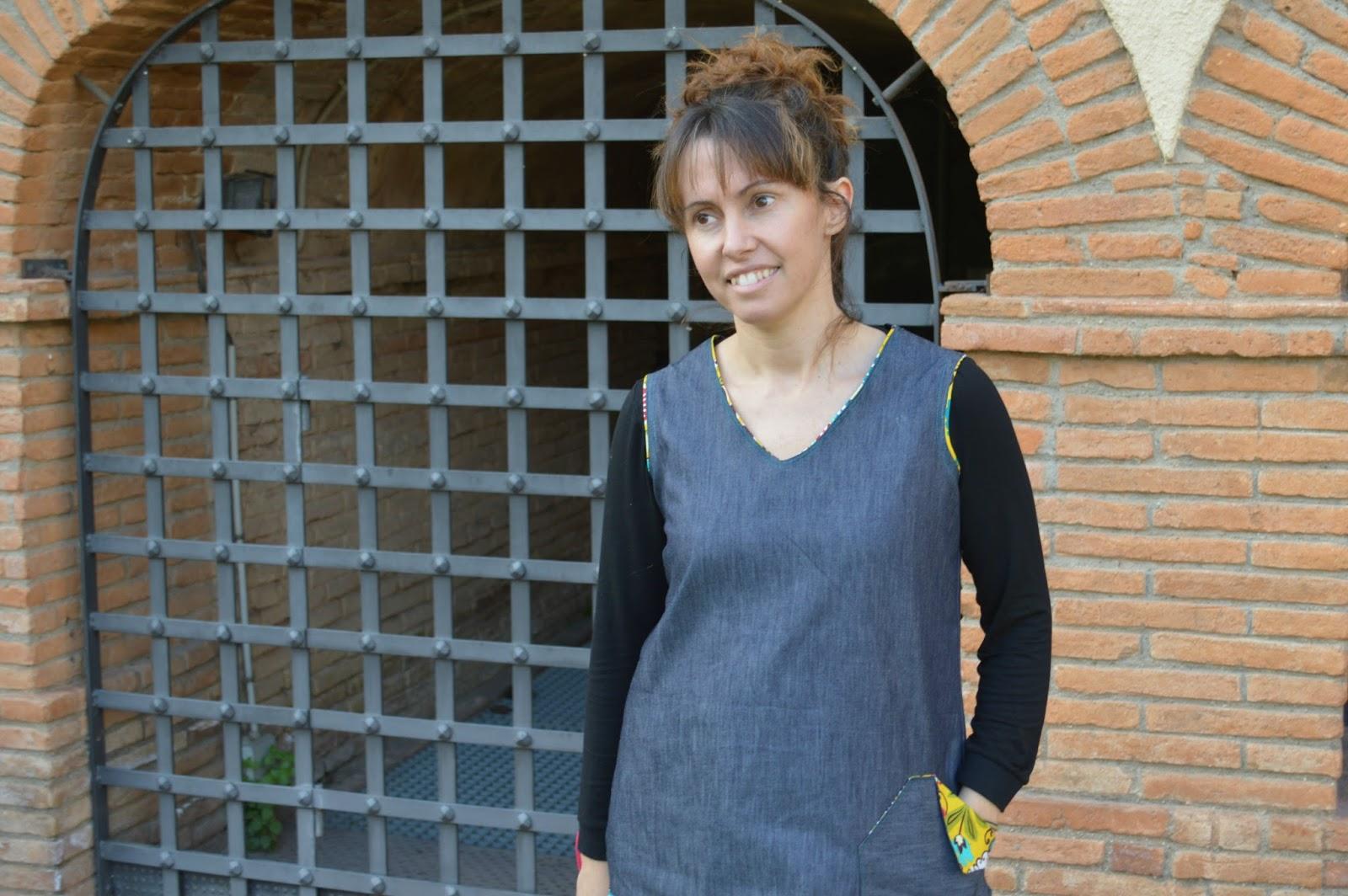 Camiseta mujer handmade uVe