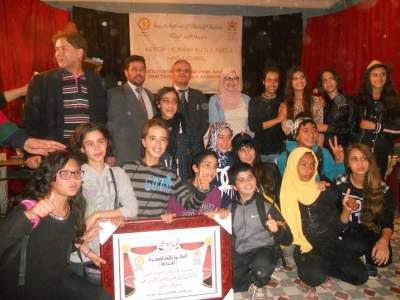 مديرية خريبكة :تتويج ثانوية الشهيد لمعلم العربي بالجائزة الأولى لمهرجان المسرح والفنون
