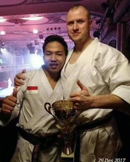 Fauzan, Putra Bangsa sang juara Karate Dunia