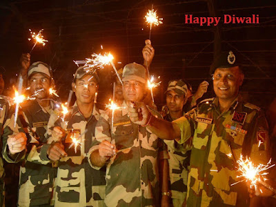Happy Deepavali Indian Army Wallpapers