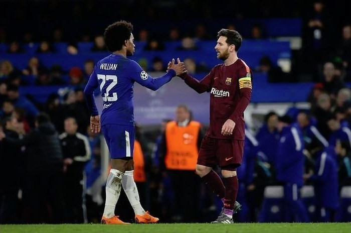 Football Yesterday & Today: Willian - Detailed stats in European Cups